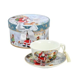 Kávový šálek s podšálkem Unimasa Santa