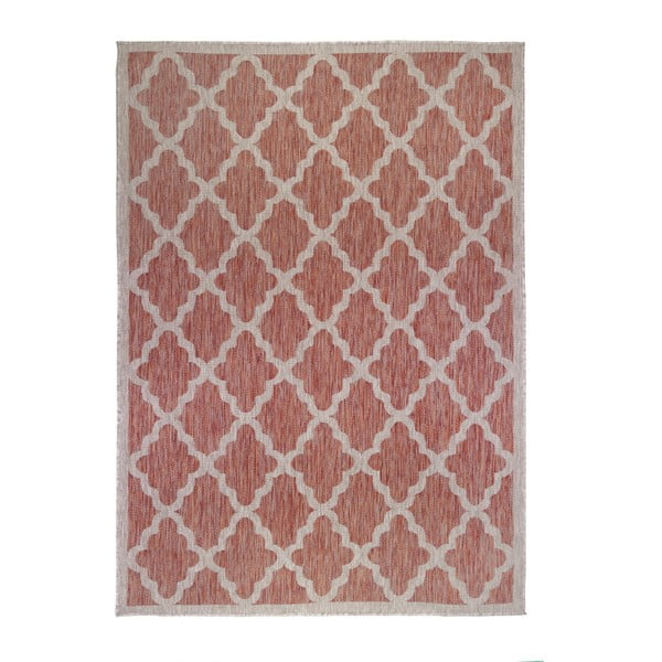 Červeno-béžový koberec Flair Rugs Padua, 160 x 230 cm