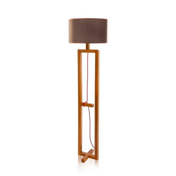 Stojací lampa Dal Walnut