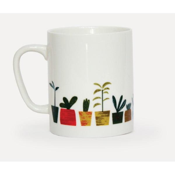 Hrnek z porcelánu U Studio Design Little Plants