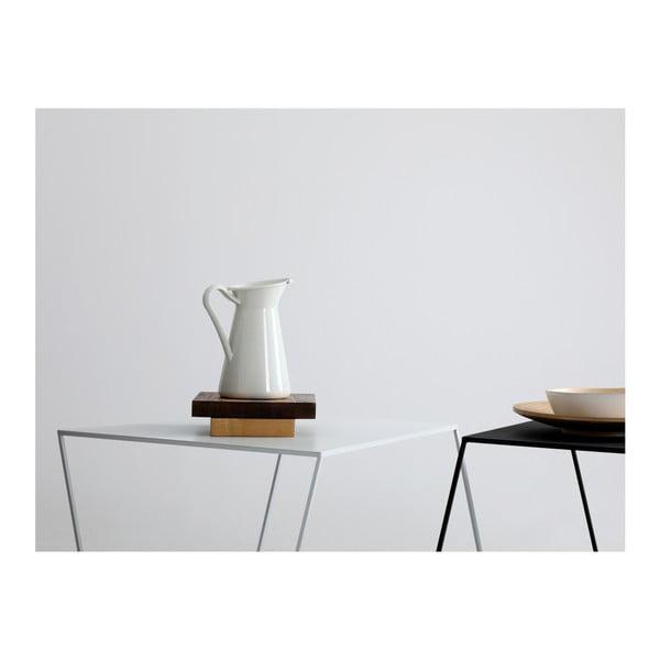 Măsuță de cafea Custom Form Zak, lungime 80 cm, negru