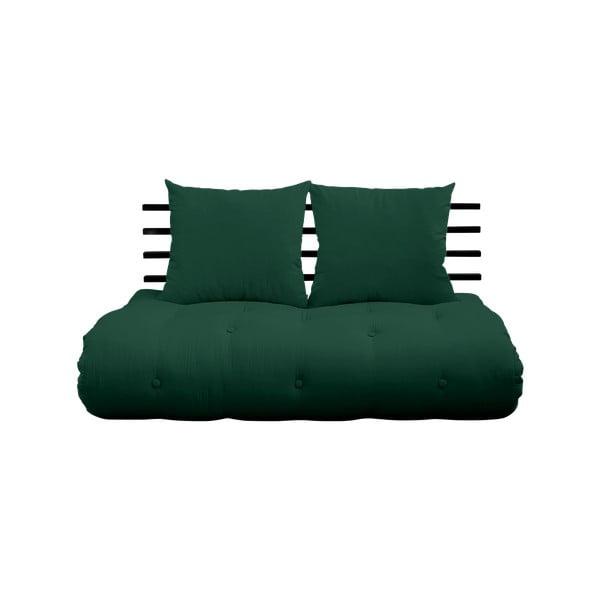 Shin Sano Black/Dark Green kinyitható kanapé - Karup Design
