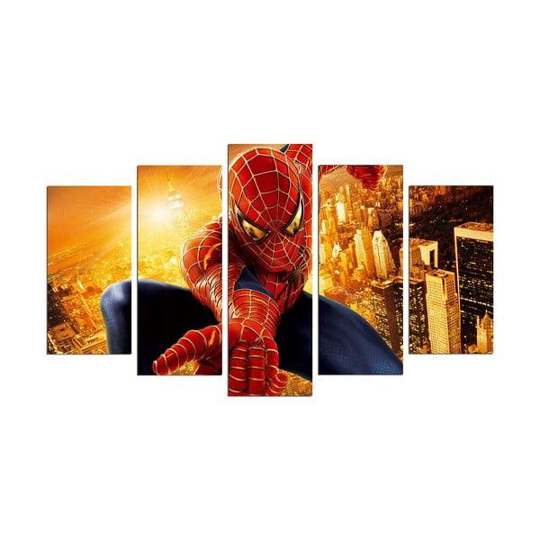 Tablou din 5 piese Spider Man