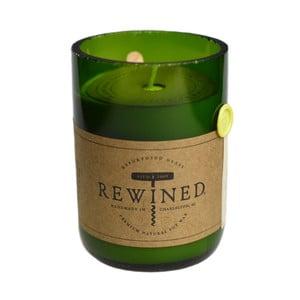 Lumânare Rewined Candles Chardonnay, 80 ore
