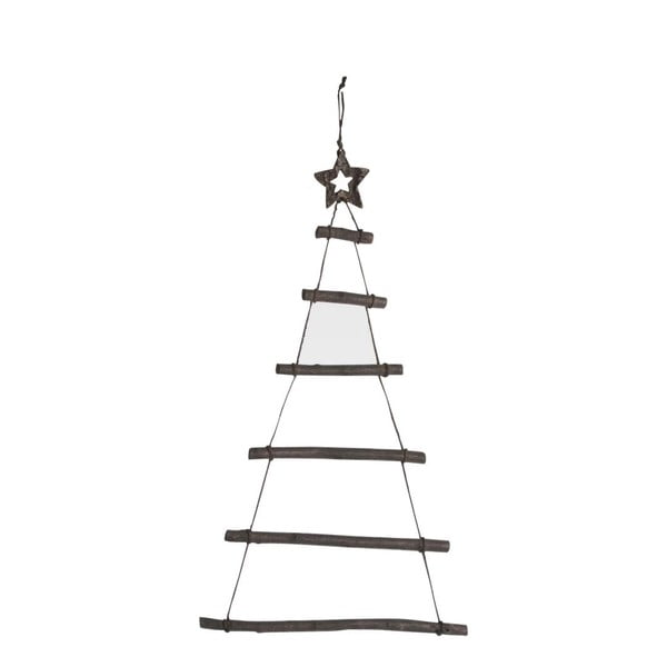 Dřevěná závěsná vánoční dekorace J-Line Tree