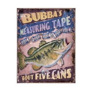 Plechová cedule Bubba's