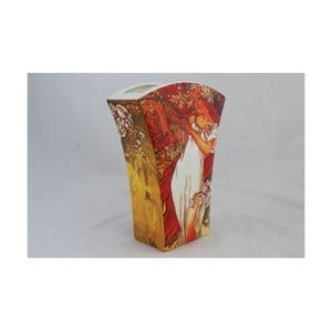 Alfons Mucha - váza Jaro