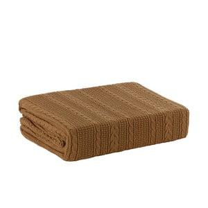Pletená deka Greeny, 170x220 cm