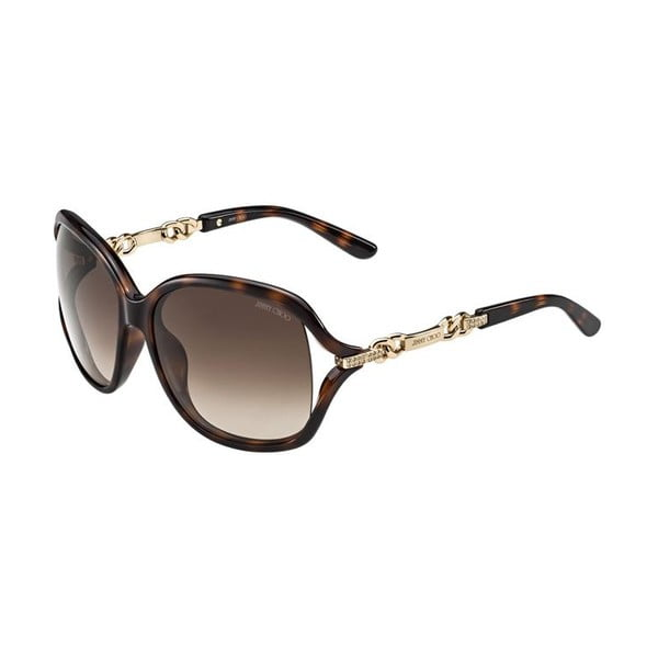 Sluneční brýle Jimmy Choo Loop Havana/Brown