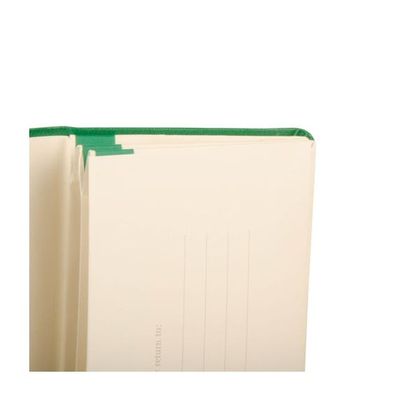 Zelené portfolio Moleskine XS