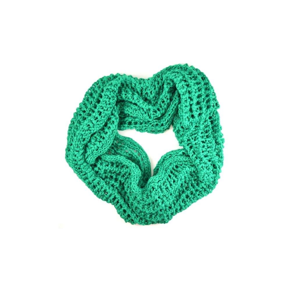 Dámská kruhová šála Drabinka Green  2f5d48a4d6