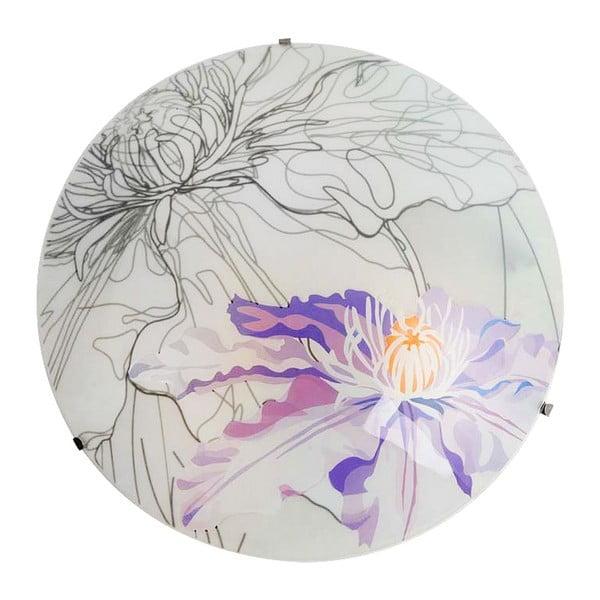 Nástěnné světlo Violet Spring Round, 30 cm