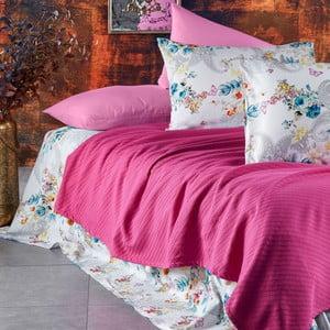 Sada ložního prádla ze 100% bavlny Marie Lou Garden Rose