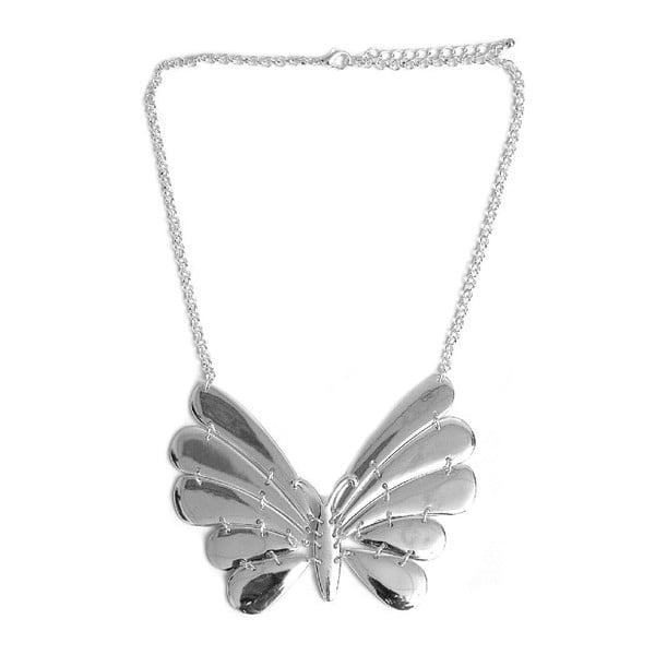 Náhrdelník Silver Butterfly