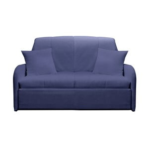 Canapea extensibilă cu 2 locuri 13Casa Paul, albastru gri