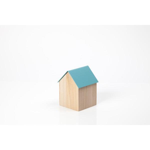 Úložný box House Small, sv. modrý