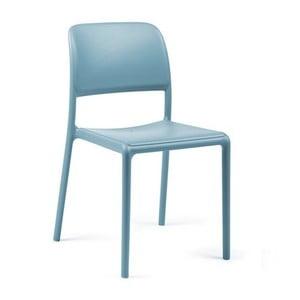 Světle modrá zahradní židle Nardi Garden Riva Bistrot