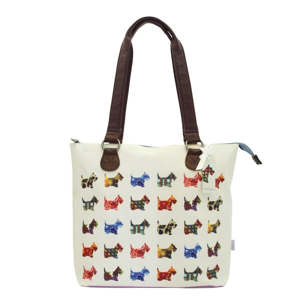 Oboustranná kabelka přes rameno Santoro London Scottie Dogs