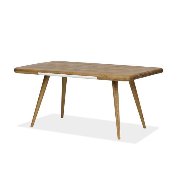 Jídelní stůl z dubového dřeva Gazzda Ena One, 140x100x75cm