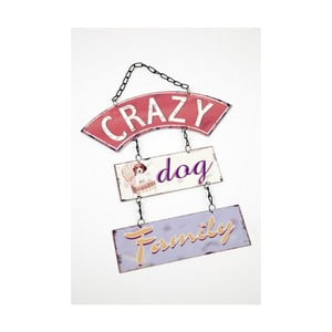 Vintage cedule Crazy Dog