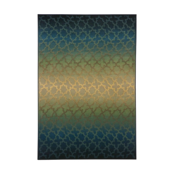 Koberec Duero, 67x120 cm, zelený