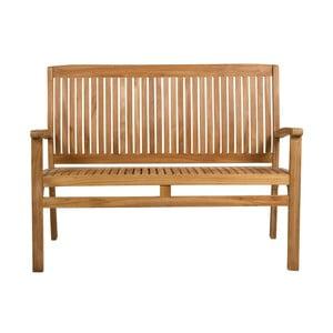 Zahradní lavice s opěrkou z teakového dřeva Santiago Pons