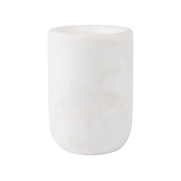 Bílá mramorová váza Zuiver Cup
