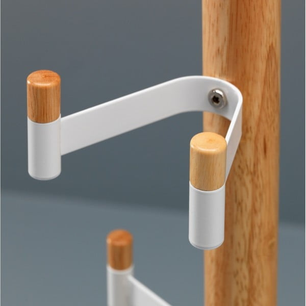 Bílý věšák Design Twist Manali
