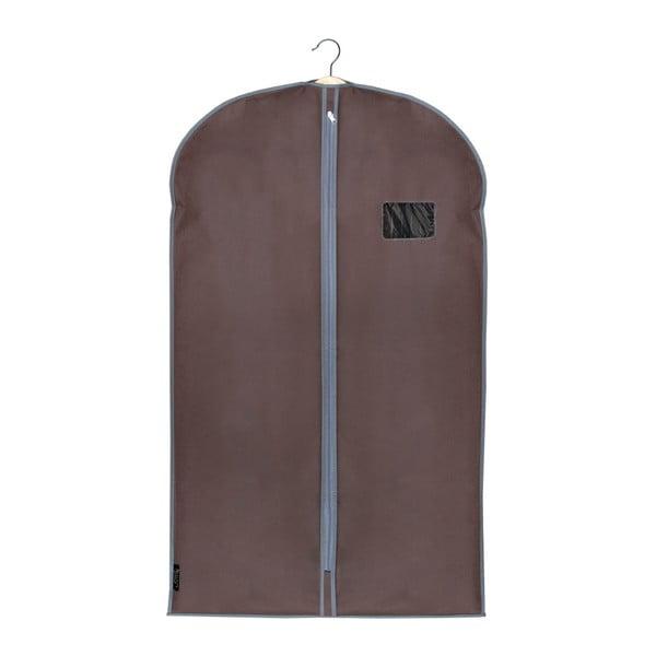 Hnedý obal na oblek Domopak Living