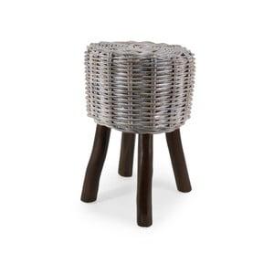 Ratanová stolička s dřevěnou konstrukcí Moycor Acra