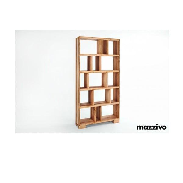 Knihovna z olšového dřeva, R104, natural