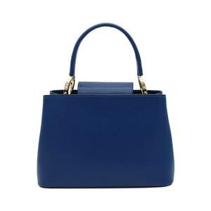Tmavě modrá kabelka z pravé kůže Andrea Cardone Milleo