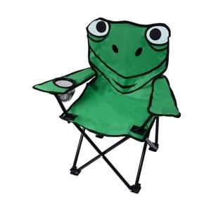 Zelená skládací kempingová židle Cattara Frog