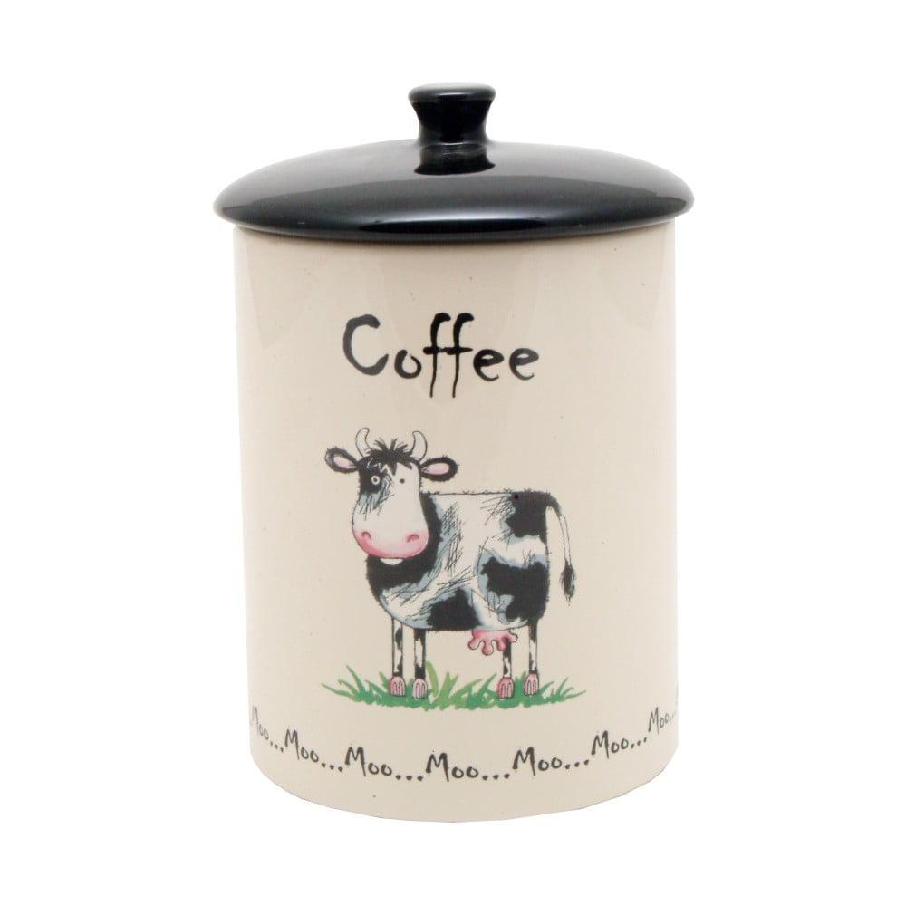 Porcelánová dóza na kávu Price&Kensington Home Farm, ⌀ 10,5 cm