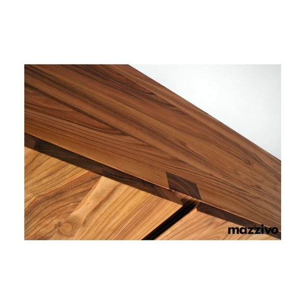 Komoda Mazzivo z olšového dřeva, model 2.2, bezbarvý vosk