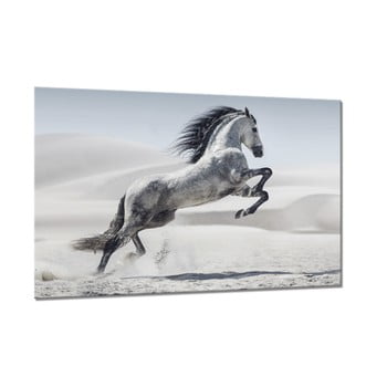 Tablou Styler Glasspik Animals Horse, 80 x 120 cm de la Styler