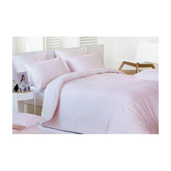 Povlečení Blocks Pink, 240x200 cm
