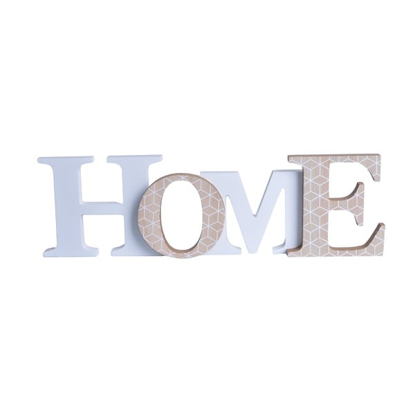 Dekorativní nápis Domov
