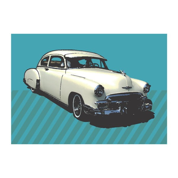 Obraz Royce Blue, 40x60 cm
