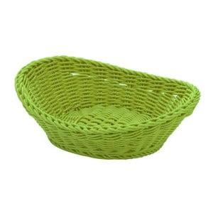Košík Ovaler Lime, 23,5x16x6,5 cm
