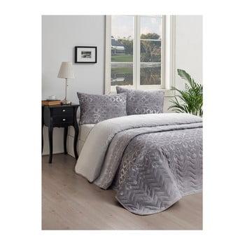 Set cuvertură de pat și față de pernă Lura Cula, 160 x 220 cm de la EnLora Home