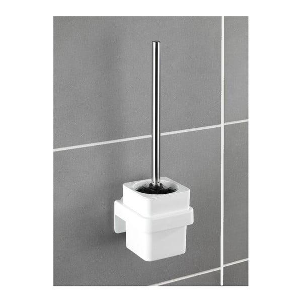 Samodržící nástěnný toaletní kartáč Wenko Static-Loc Osimo