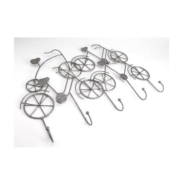 Kovový věšák Bikes