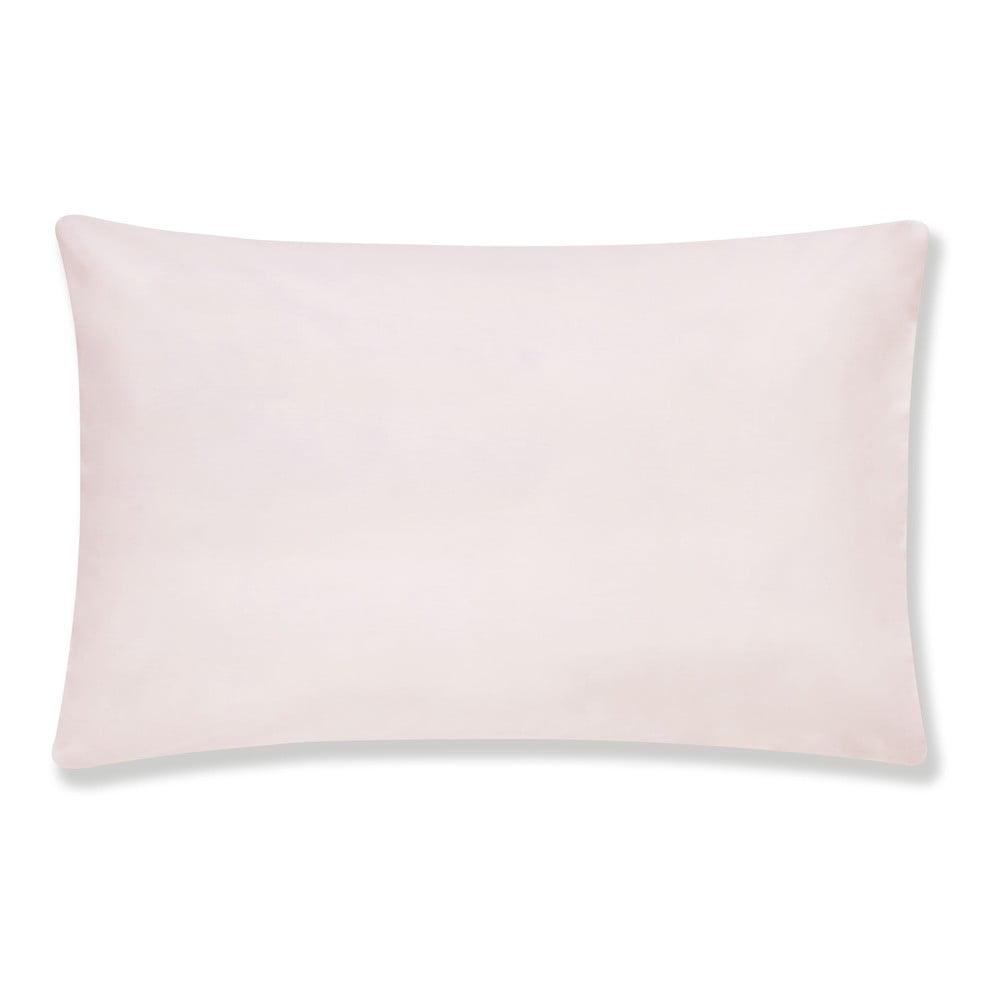 Sada 2 růžových povlaků na polštář z egyptské bavlny Bianca Standard, 50 x 75 cm