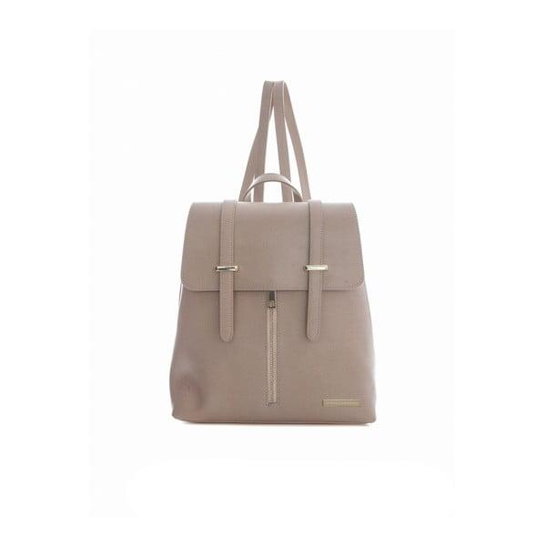 Růžový kožený batoh Sofia Cardoni Tefe