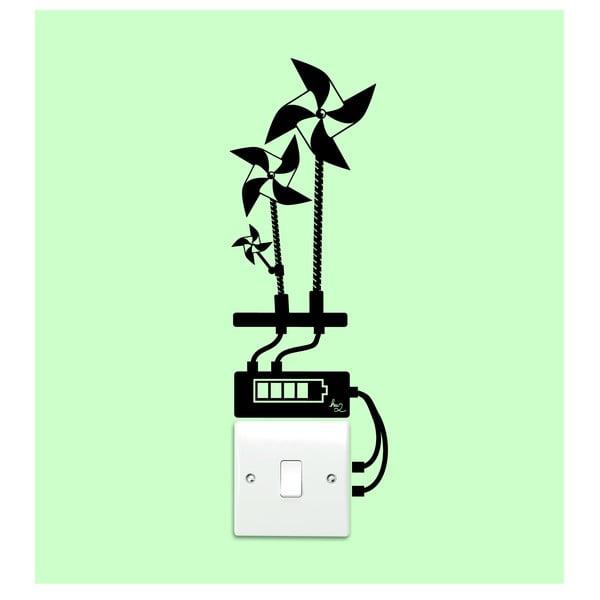 Samolepka 3 WindMills Light Switch