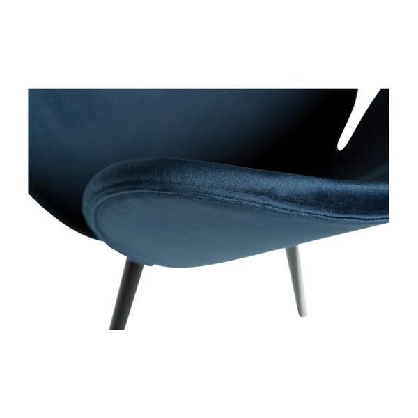Modrá židle DAN-FORM Denmark Cloud