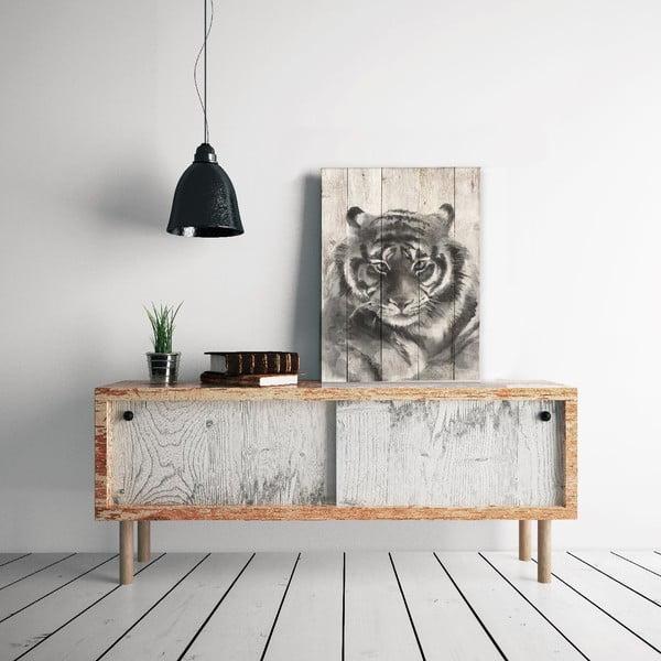 Dřevěná cedule Tiger