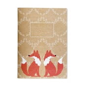 Zápisník v měkké vazbě Go Stationery Woodland Fox