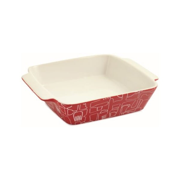 Keramický pekáček Red Teglia Quadra